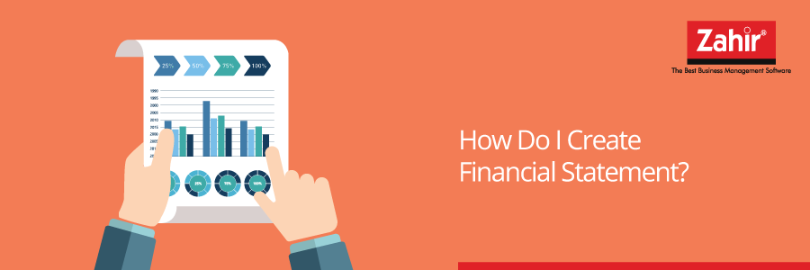 how do i create financial statements