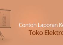 Contoh Laporan Keuangan Toko Elektronik