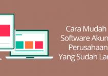 software akuntansi pada perusahaan dagang