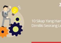 10 sikap yg harus dimiliki leader