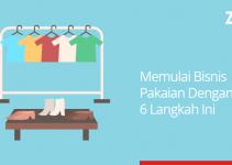 memulai bisnis pakaian dengan 6 langkah