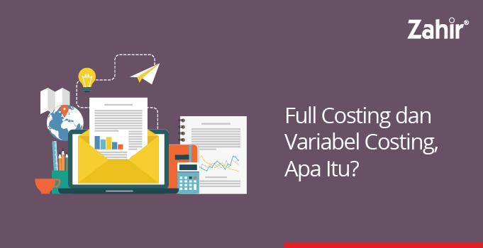 contoh laporan laba rugi variable costing dan full costing