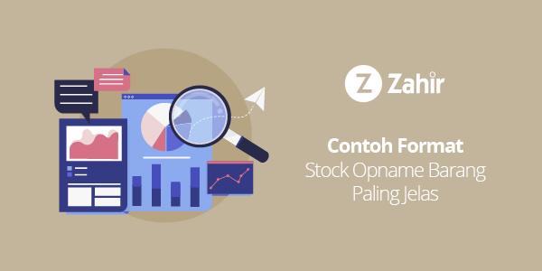Contoh Format Stock Opname Barang Paling Jelas