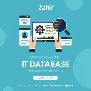 Lowongan Kerja IT Database 1
