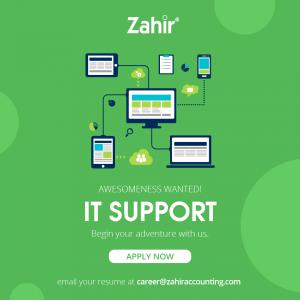 Lowongan Kerja IT Supports