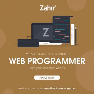 Lowongan Kerja Web Programmer
