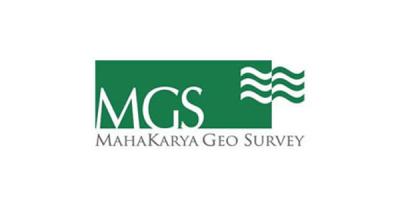Mahakarya Geo Survey MGS pakai software akuntansi zahir