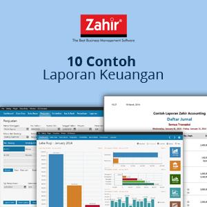 Contoh Laporan Keuangan Software Akuntansi Terbaik Zahir Accounting