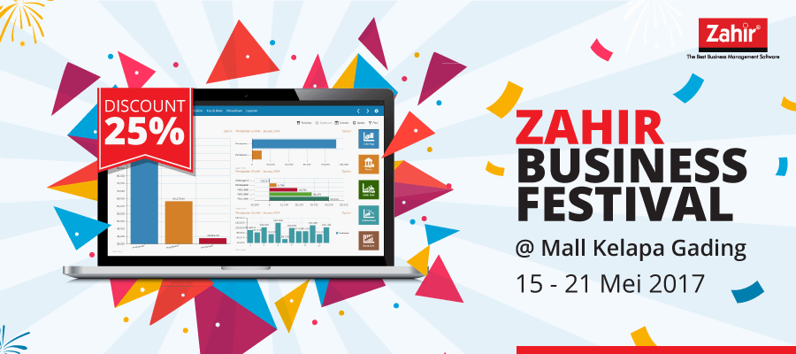 Zahir Business Festival Kelapa Gading 2017