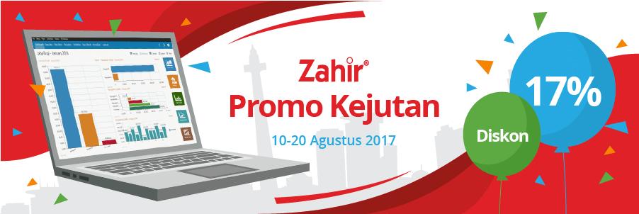 Zahir Promo Kejutan Agustusan – Diskon 17%