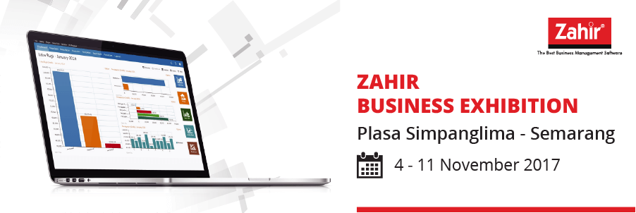 Zahir Business Exhibition Semarang November 2017
