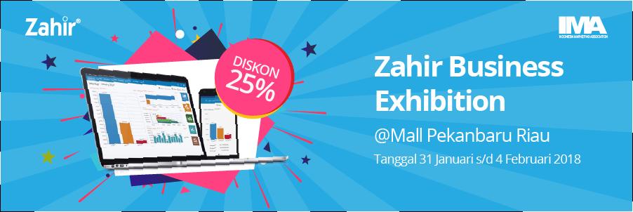 Zahir Business Exhibition @Mall Pekanbaru Riau