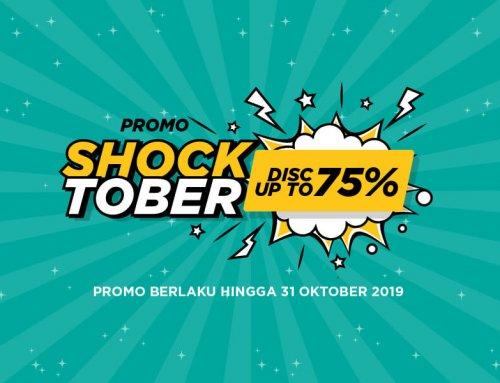 Promo SHOCKtober Up to 75%