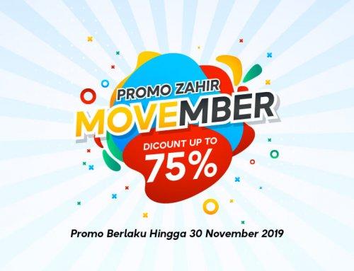 Promo Zahir Movember